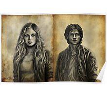 Clarke and Finn Poster
