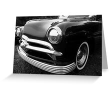 Vintage Automobile - 50's Mercury - Studebaker - Ford  Greeting Card