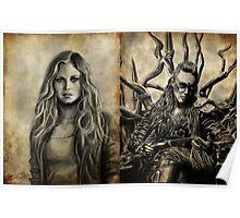 Clarke and Lexa (Clexa) Poster