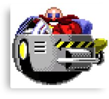 Dr Eggman Robotnik (OG Pixel Art) Canvas Print