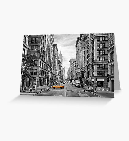 Urban 5th Avenue - NYC Greeting Card