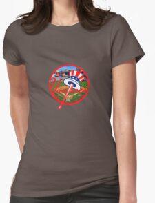 New York Yankees Stadium Logo Womens Fitted T-Shirt