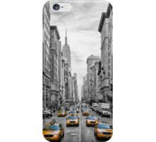 5th Avenue Yellow Cabs - NYC iPhone Case/Skin