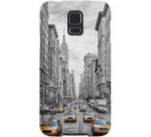 5th Avenue Yellow Cabs - NYC Samsung Galaxy Case/Skin