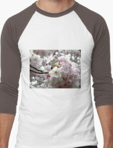 Sakura Bunches Men's Baseball ¾ T-Shirt