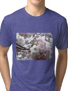 Sakura Bunches Tri-blend T-Shirt