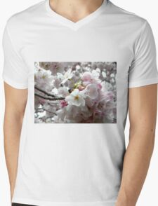 Sakura Bunches Mens V-Neck T-Shirt