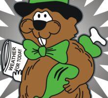 PUNXSUTAWNEY PHIL Groundhog Day Sticker