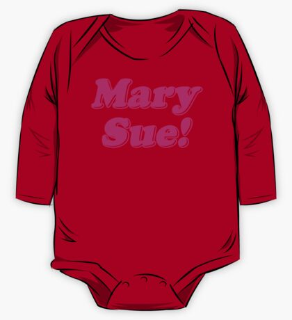 Mary Sue! One Piece - Long Sleeve