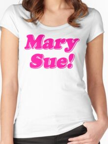 Mary Sue! Women's Fitted Scoop T-Shirt