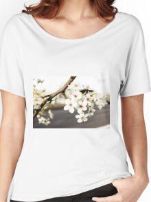 Sakura Road Women's Relaxed Fit T-Shirt