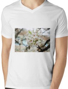 Speckled Blossoms Mens V-Neck T-Shirt