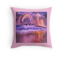 WAVES OF GOODNESS COVERS YOU Throw Pillow