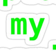 exploit my dopemine please Sticker