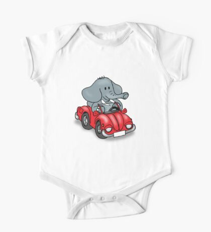 Elephant VW One Piece - Short Sleeve