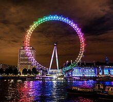 London Eye Pride by Matt Malloy