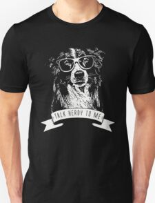 BORDER COLLIE - TALK HERDY TO ME T-Shirt