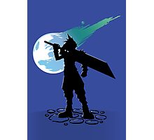 Cloud and the Meteor - Final Fantasy VII Photographic Print