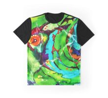 Perspective Abstraction Graphic T-Shirt