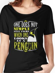 Penguin Lover Women's Relaxed Fit T-Shirt