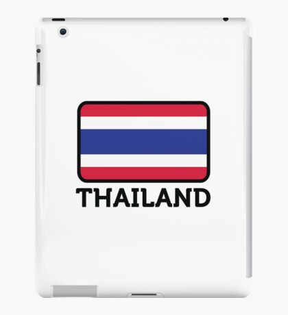 National flag of Thailand iPad Case/Skin