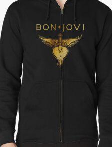 BON JOVI GOLD HEART LOGO T-Shirt