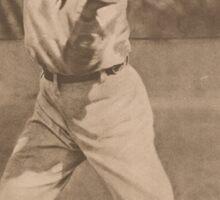 Tris Speaker Baseball Card Sticker