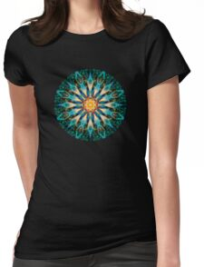 Plasmic Circle 1-1 Womens Fitted T-Shirt