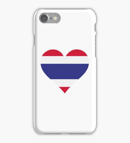 A heart for Thailand iPhone Case/Skin
