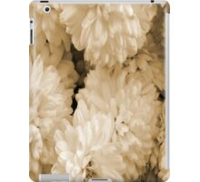 Monochrome Abstract Mums iPad Case/Skin