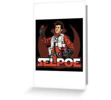 Selpoe Greeting Card