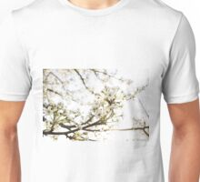 White Blossom II Unisex T-Shirt