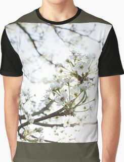 White Petals I Graphic T-Shirt