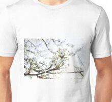 White Petals I Unisex T-Shirt