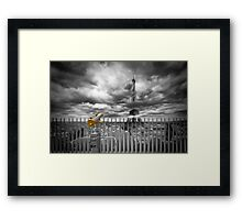 PARIS Composing Framed Print