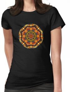 Plasmic Circle 1-4 Womens Fitted T-Shirt