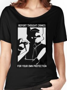 Report Thought Crimes Women's Relaxed Fit T-Shirt