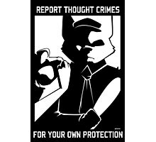 Report Thought Crimes Photographic Print