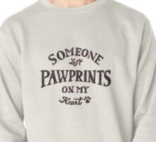Pawprints On My Heart Pullover