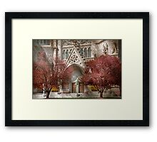 Church - Psalm one to talk to Framed Print