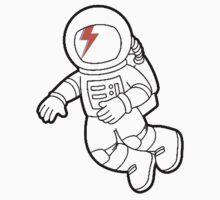 astronaut bowie by enakbanget