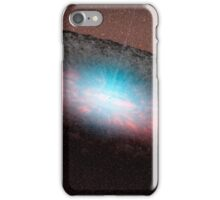 A supermassive black hole at the center of a galaxy. iPhone Case/Skin