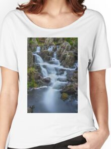 Mountain Waterfall Women's Relaxed Fit T-Shirt