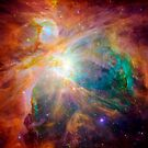 The Orion Nebula.  by StocktrekImages