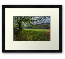 The Shade Of The Tree Framed Print