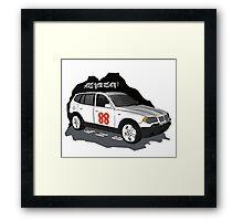 BMW X3 Framed Print