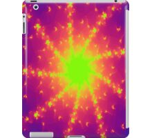 Fractal Sunfire Wheel  iPad Case/Skin