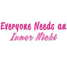 Everyone Needs an Inner Nicki (Minaj) Photographic Print