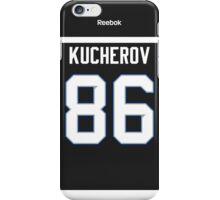 Tampa Bay Lightning Nikita Kucherov Alternate Jersey Back Phone Case iPhone Case/Skin