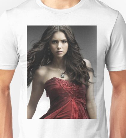 Hot Nina Dobrev Elena The Vampire Diaries Unisex T-Shirt